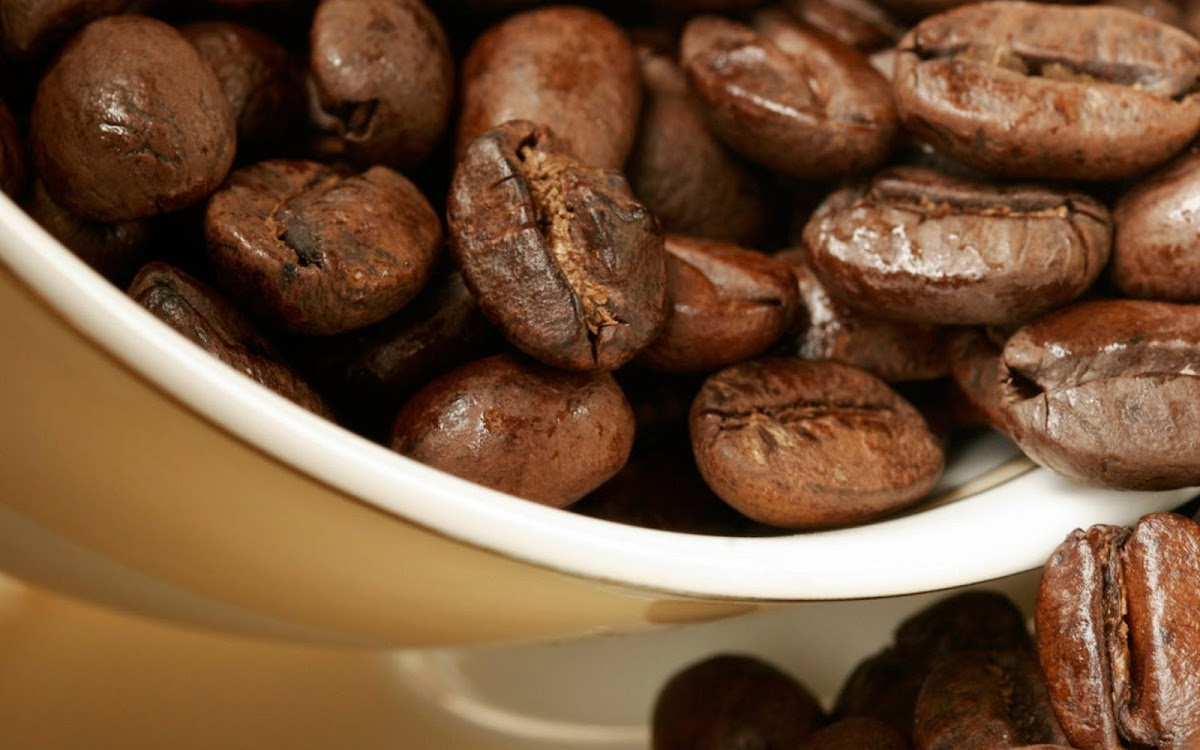 Coffee Beans Widescreen HD Wallpaper 7