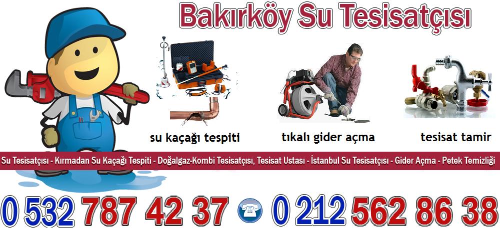 Bakırköy Tesisatçı | İstanbul | Tesisat Su Kaçağı Tespit | Pimaş Gideri Açma