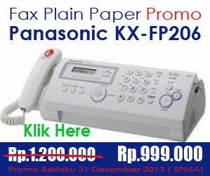 Sale Akhir Tahun Fax Panasonic