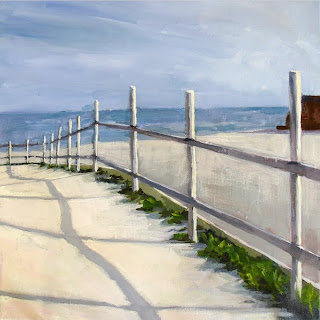 Down to the Beach by Liza Hirst