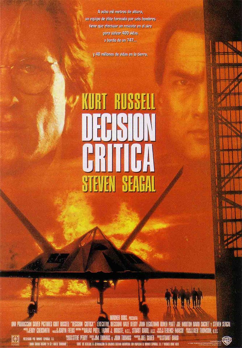 Decisión crítica, Kurt Russell, Steven Seagal, Halle Berry, John Leguizamo