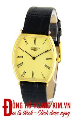 Đồng hồ nam Longines dây da
