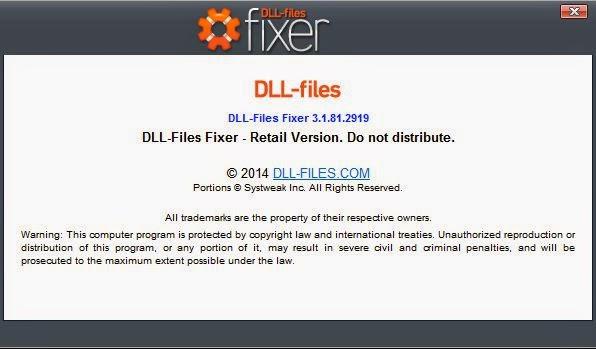 Download Dll Files Fixer 3.1 + Crack | Rey Blog