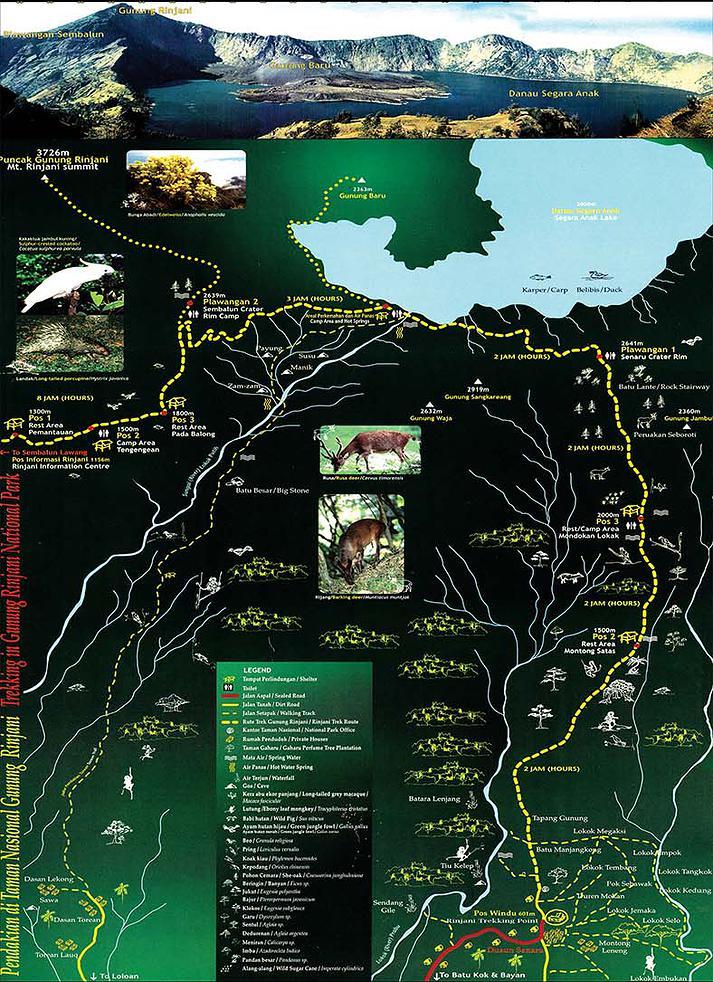 Rinjani Map
