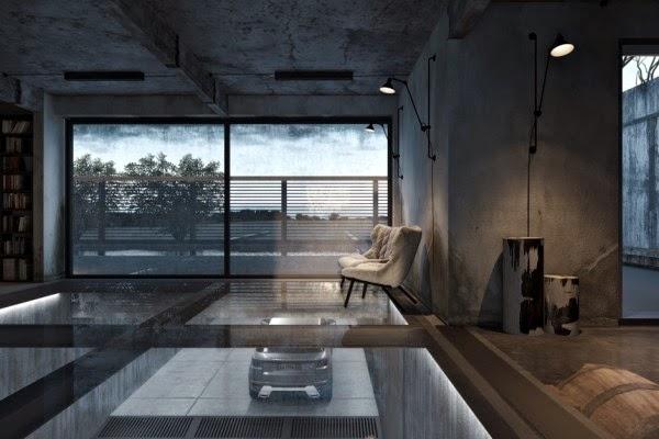 Heteruf designs casa industrial con un dise o llevado al for Diseno industrial casas