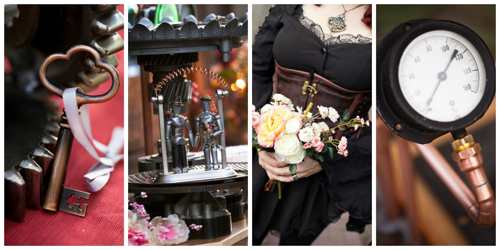 Arizona steampunk wedding