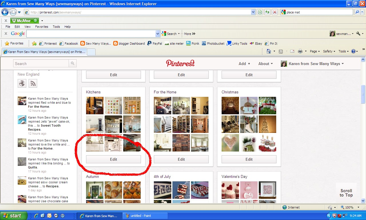 how to change pinterest board tiles
