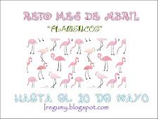 Reto Ireguny mes de abril ¡flamencos!