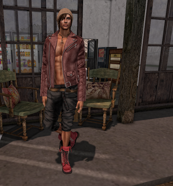 "New!!! Altamura Group Mesh Male Body ""AV3M"" and Mesh Head ""Alex"" @ Bombastic Fai"