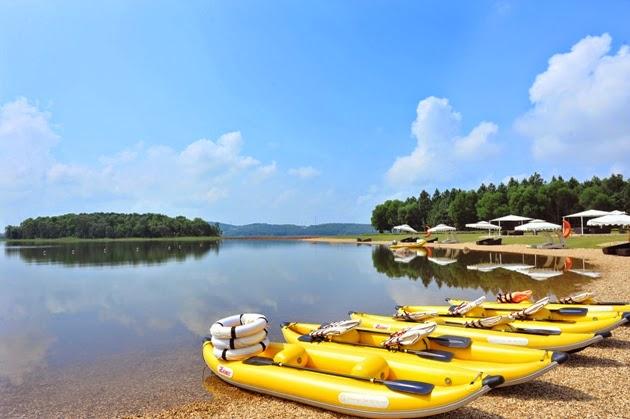 Du lịch cuối tuần - Hồ Đại Lải 1 ngày