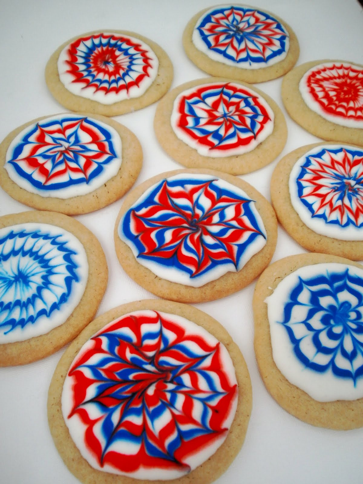 The Busty Baker: Firework Sugar Cookies