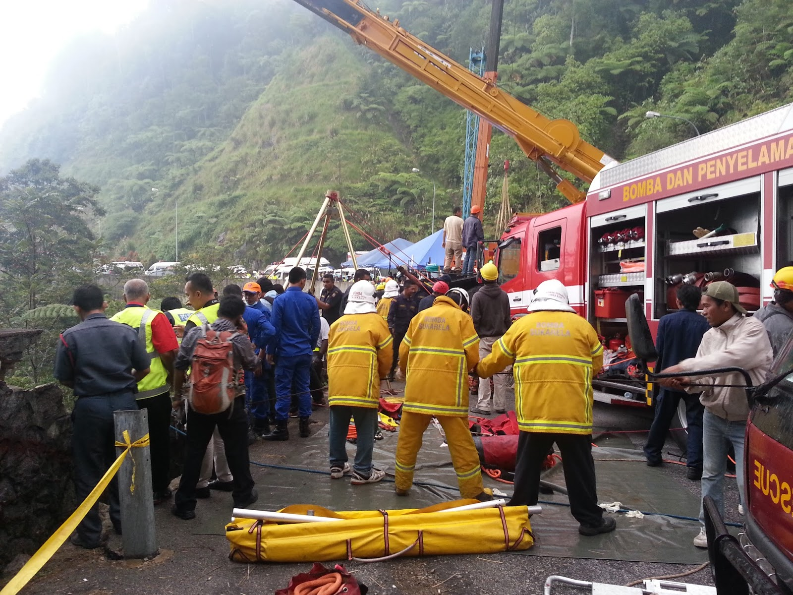 Genting Cable Car Accident  Dead