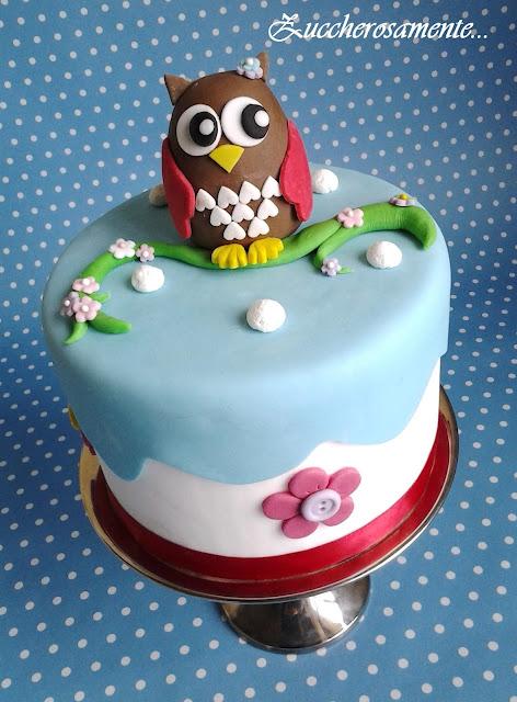Corso Di Cake Design Varese : Zuccherosamente...: Torta Gufo - Corso di cake design su ...