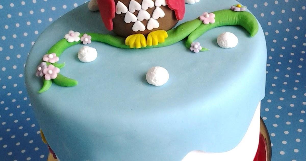 Corso Di Cake Design Milano Groupon : Zuccherosamente...: Torta Gufo - Corso di cake design su ...