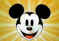 Disney cartoon character Mickey Mouse