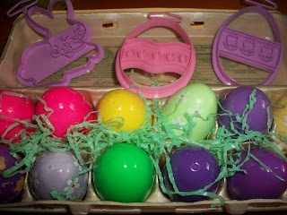 Homemade Playdough Easter Egg Gift