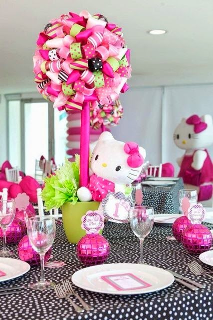 ideas de fiesta temtica de cumpleaos hello kitty