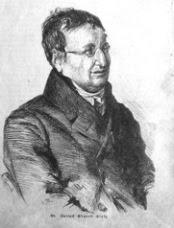 Bildnis des Kriminal-Direktors Dr. Julius Eduard Hitzig 1844