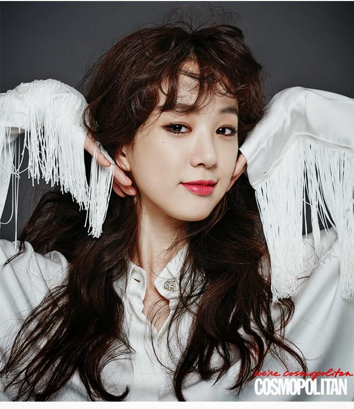 Jeong Ryeo Won - Cosmopolitan November 2014