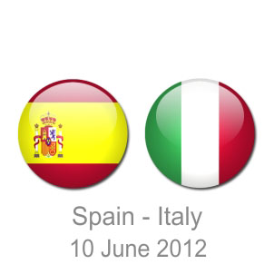 Prediction Spain vs Italy Euro 2012