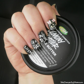 Lush Lemony Flutter Cuticle Butter Nail Art