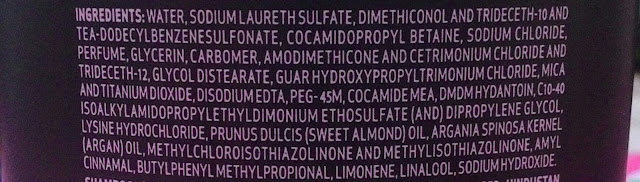 TRESemme Ionic Strength Shampoo ingredients