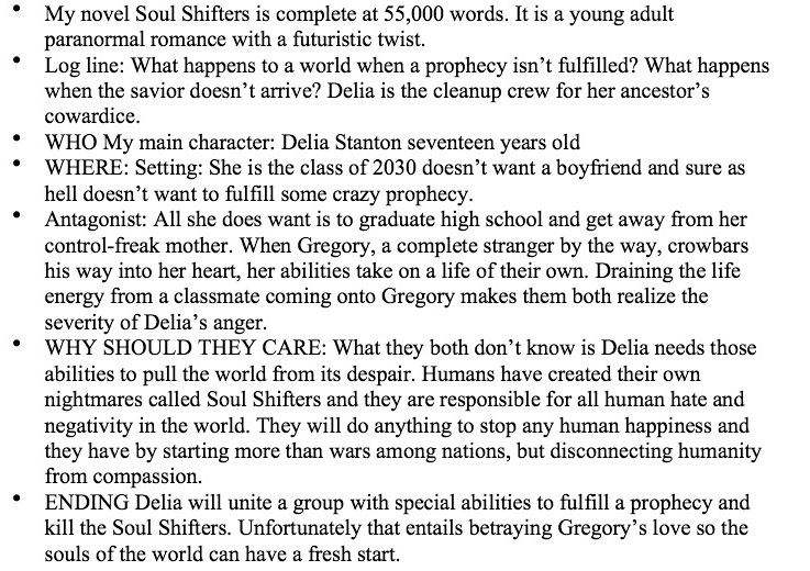 Janet reid literary agent rant pitch sessions are the spawn of satan and i stop listening closely after futuristic twist because i dont know what that means spiritdancerdesigns Images