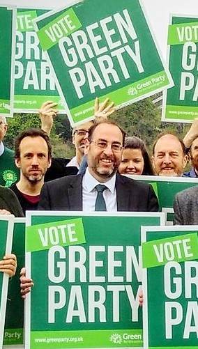 I'm supporting Tony Dyer, Green Party General Election Candidate 2017, in my area Bristol South