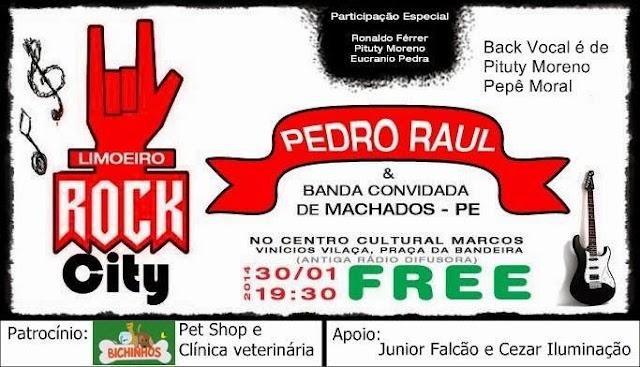 Limoeiro será palco do 1º Limoeiro Rock City
