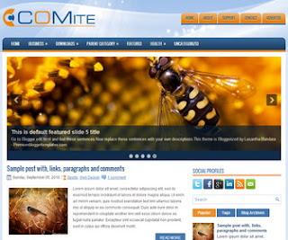 Comite Blogger Template
