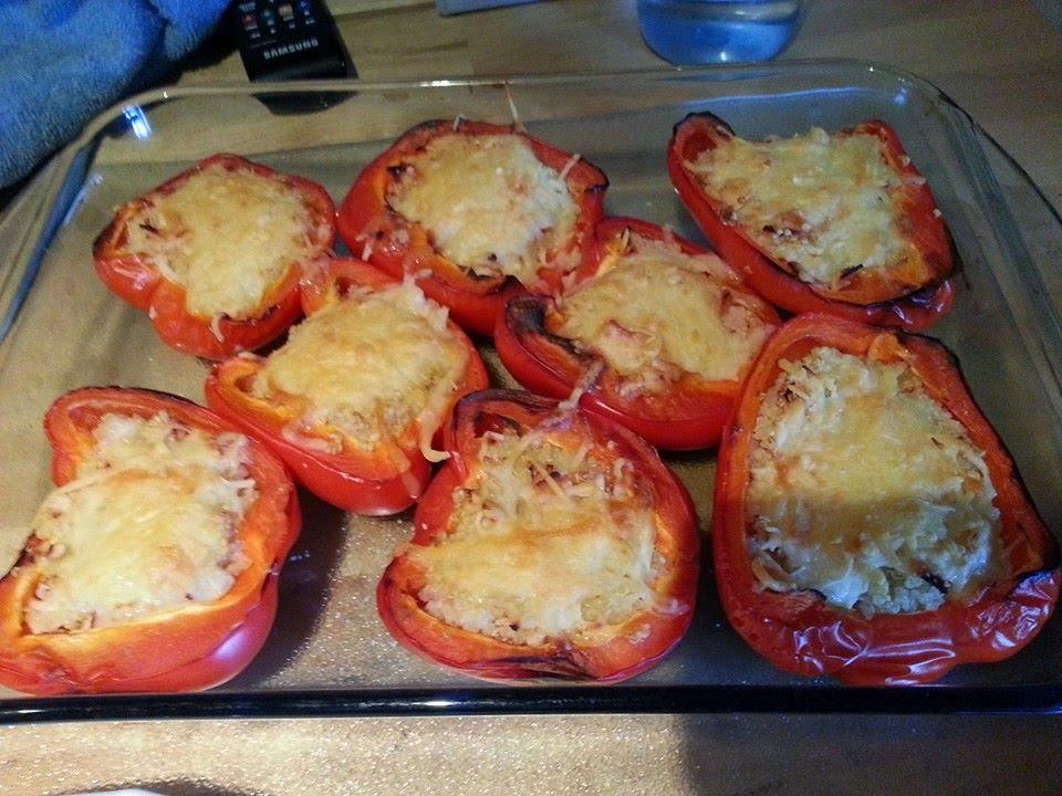 Lecker und kalorienarm kochen gef llte paprika mit quinoa for Kochen kalorienarm