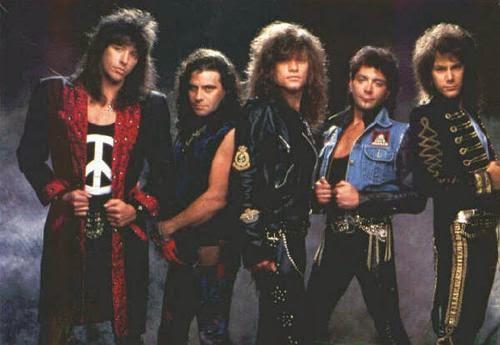 Formacion de Bon Jovi