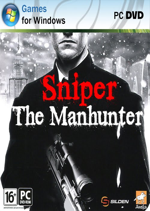 capa SNIPER: THE MANHUNTER   JOGO PC