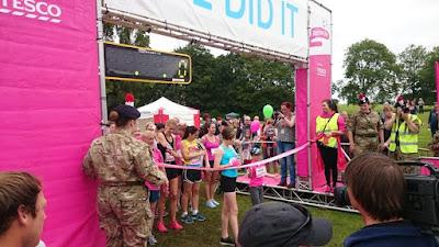 Race For Life 2015  start Heaton Park, Manchester