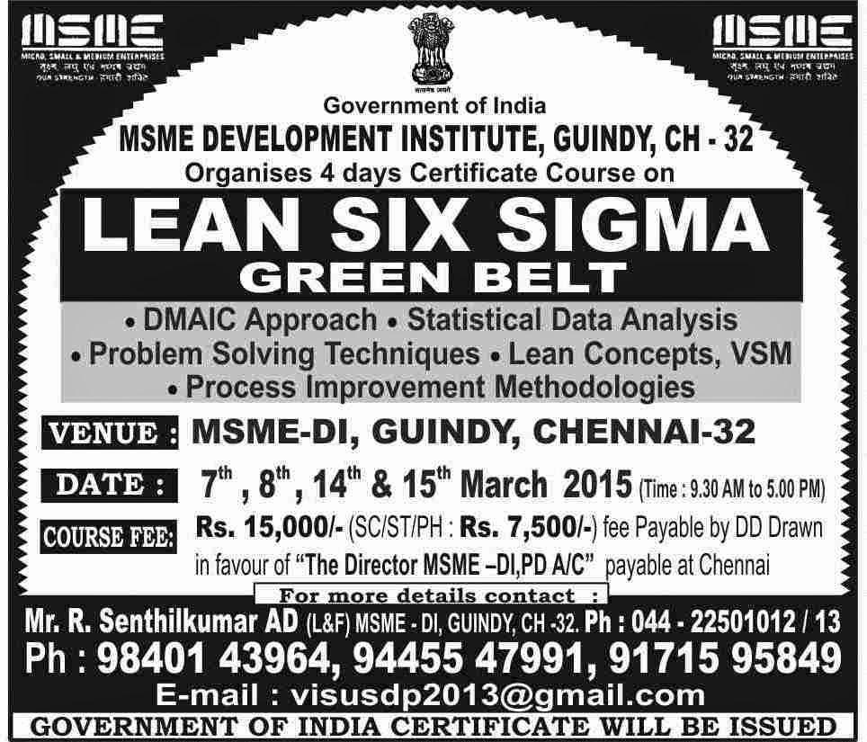 Intellectual Property Awareness Msme Organises 4 Days Certificate