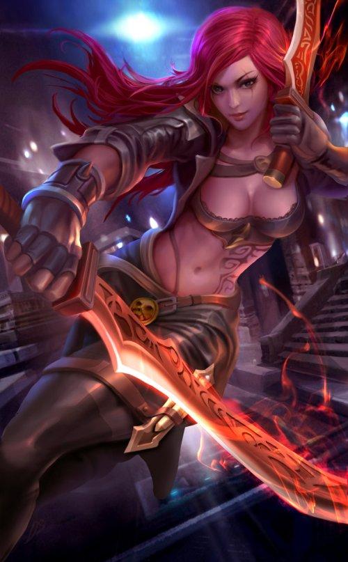 Song Weng Foong derricksong deviantart ilustrações fantasia games fan arts