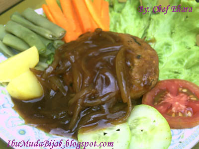 Steak Tempe Saus Sukiyaki
