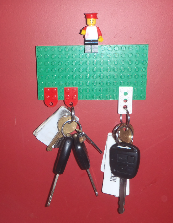 Jovial Spondoodles Lego Key Holder