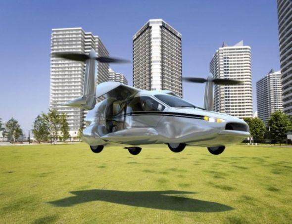 Terrafugia the World's first Flying Car