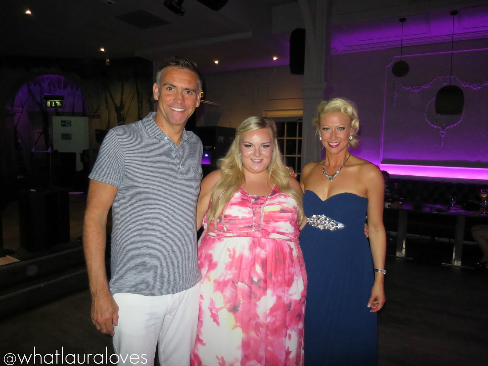 An Audience with Faye Tozer at Bonbar, Newcastle. Alongside Jason Isaacs and the Ambassadors of Swing big band. Organise by Red Shoe Events.