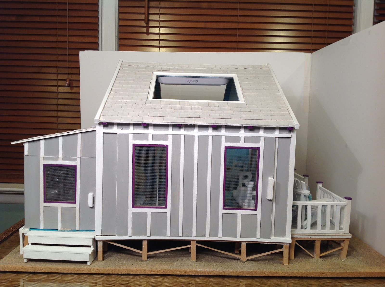 The Dollhouse Whisperer Lasertech Designs Beach Cottage