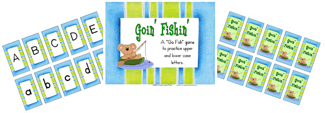 Classroom Freebies Go Fishin For Upper And Lower Case