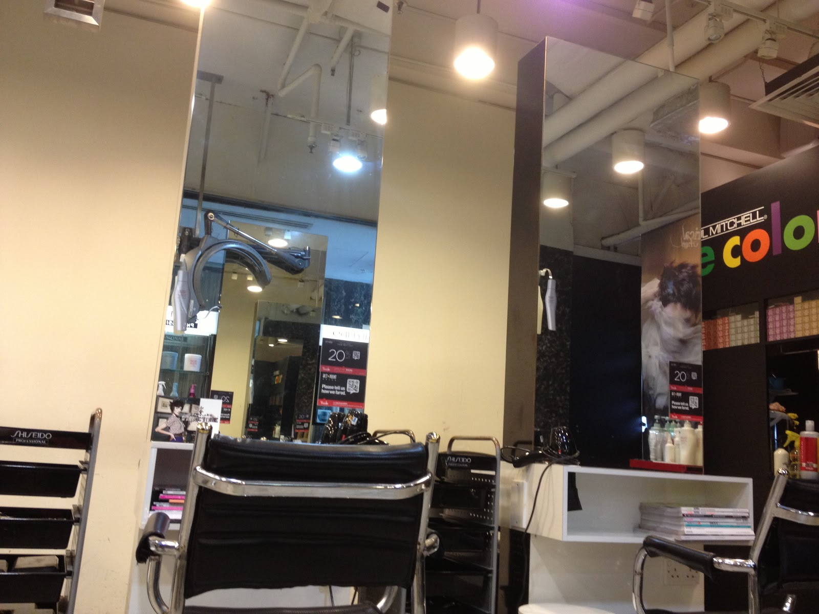 Yingnerthoughts hair perming at act point salon for Actpoint salon review