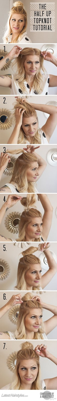 Tendencia de moda en los peinados | Tutoriales para peinados medio recogido