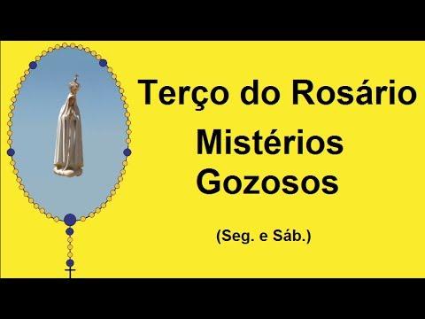 TERÇO GOZOSO - NOSSA SENHORA DE FÁTIMA