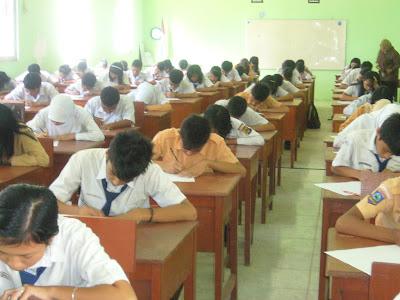 Daftar Passing Grade SMA Negeri Tangerang 2012