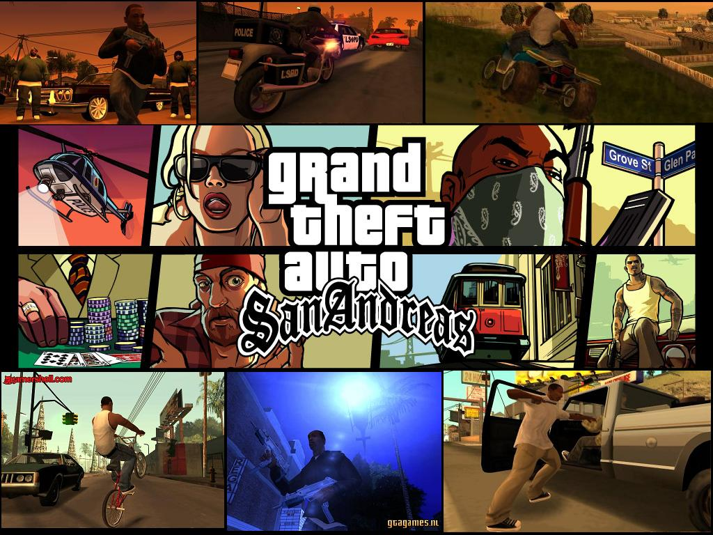 Grand Theft Auto San Andreas Probably One The Most Popular Games