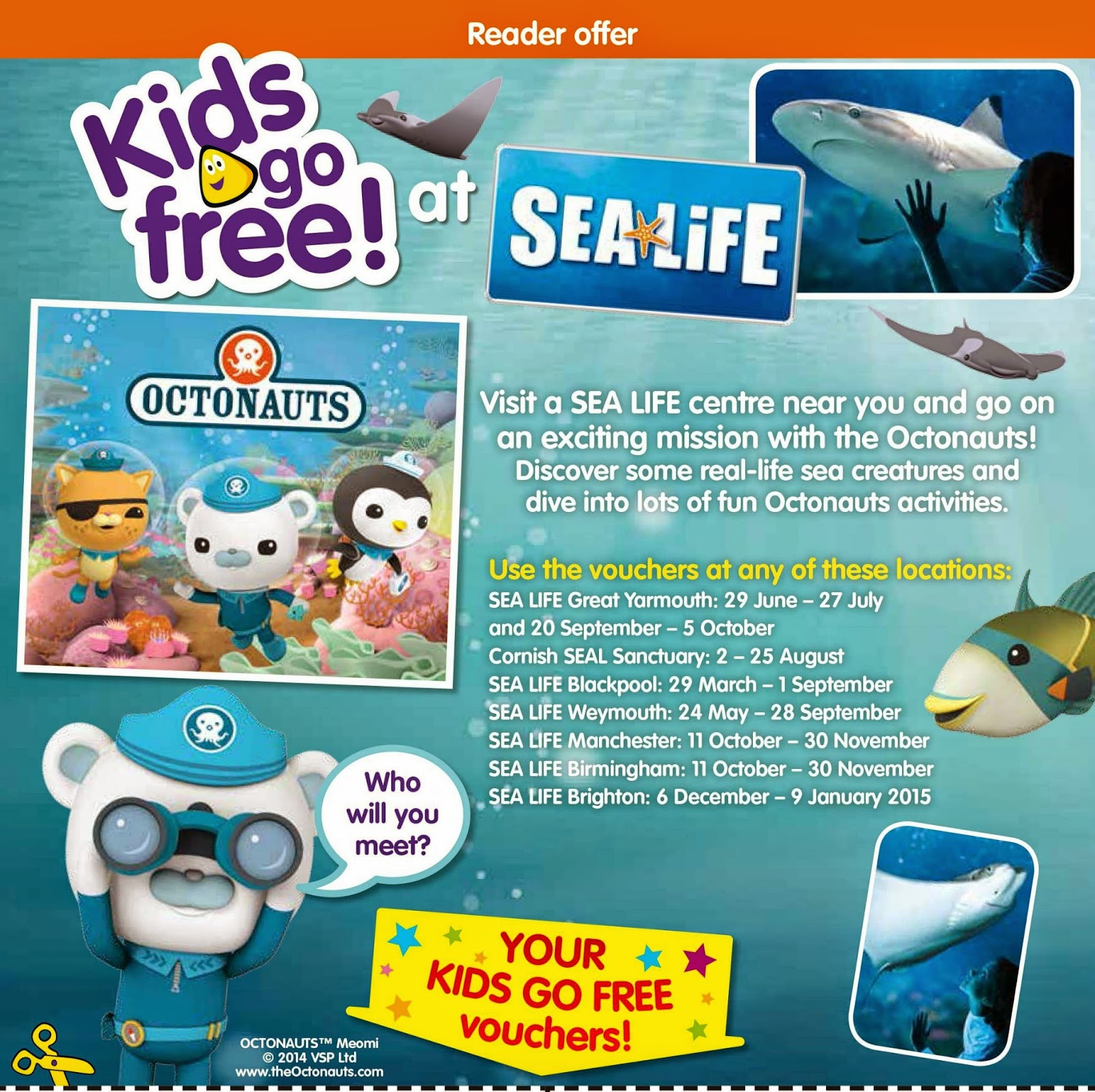 CBeebies Magazine, Merlin Entertainments, #CBeebiesMagKidsGoFree