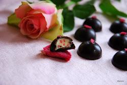 Rózsaszirom bonbon