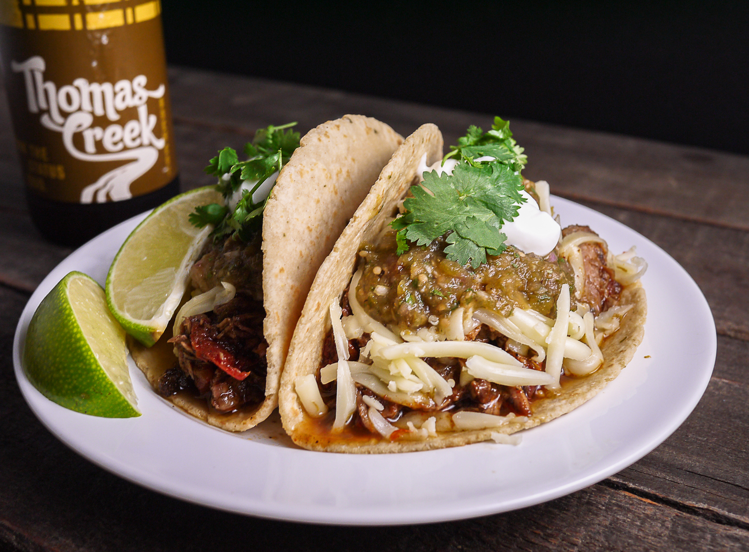 Barbells and Bellinis: Shredded Beef Tacos with Verde Salsa